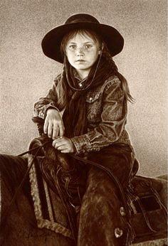 Little girls can be as tough as little boys.