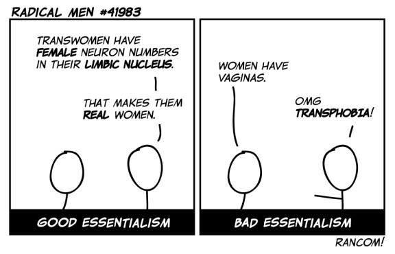 Brainsex essentialism ;) FairPlayForWomen.com