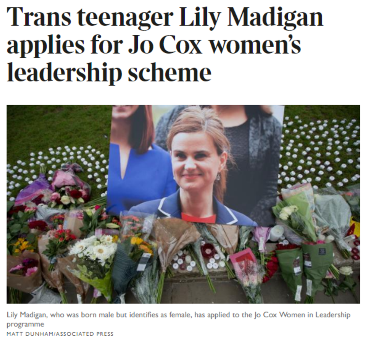 Dear Labour Party, Please consult ordinary women on matters that affect us. Jo Cox Women in Leadership Programme. Fair Play For Women.