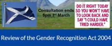 Guide to the Scottish consultation on reform of the Gender Recognition Act