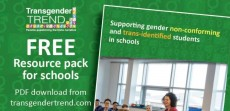Transgender Trend's Schools Resource Pack – Read it, discuss it, share it!