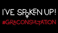 #GRAconsultation. I've spoken up!