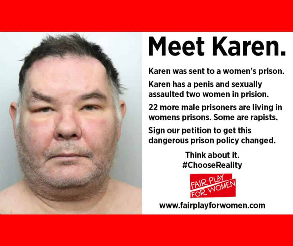 Karen White, a transgender sex offender sent to a female prison