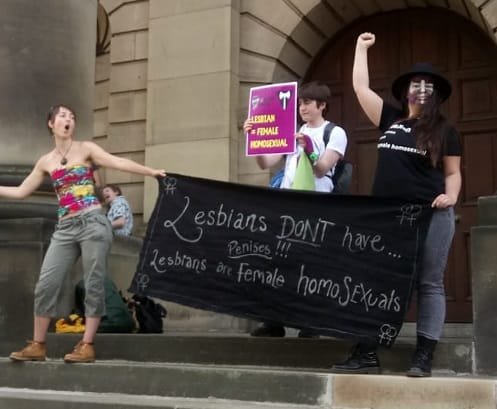 Are Lesbians Welcome at Pride? The answer at Lancaster Pride