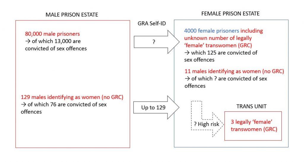 transgender prisoners in UK prisons