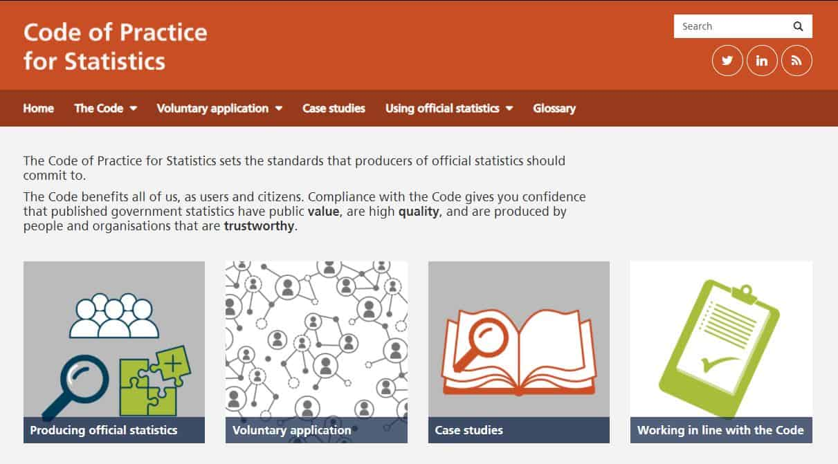 OSR Code of Practice for Statistics